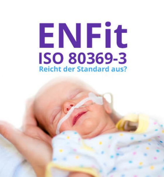 enterale Ernährung enfit 80369 neu